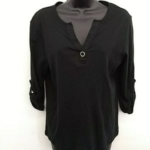 Addiction Tops - Additions by Chico Women's Size 2 Medium Shirt